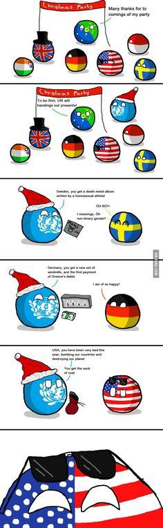 Polandball Christmas