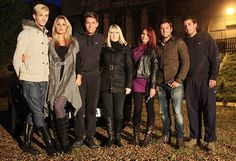 Yvette Fielding with some of the regulars from Towie in 'Ghosthunting with The Only Way is Essex' Most Haunted, Ghost Hunting, The Only Way, Fields, Military Jacket, Jackets, Fashion, Down Jackets, Moda