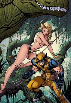 Savage Wolverine by J-Skipper.deviantart.com on @deviantART