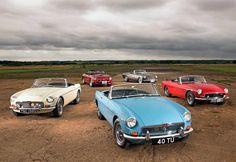 MGB, MGC, Costello V8, MG RV8, Abingdon Edition and Sebring