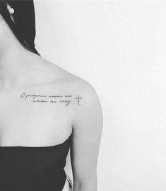 Sion q lindooo ❤❤😍 Phrase Tattoos, Mini Tattoos, Tattoo Fonts, Love Tattoos, Unique Tattoos, New Tattoos, Body Art Tattoos, Tattoos For Women, Tatoos