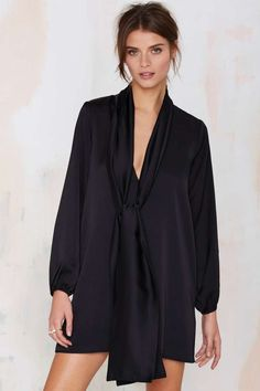 Nasty Gal Closet Queen Satin Dress | Shop Clothes at Nasty Gal!