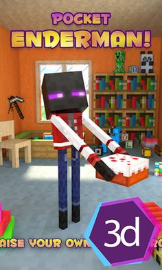 Hey, it is a virtual pet that you should take care of, so that he might grow, develop and one day you will become the best friends!<p>You should play with you Ender Bro with ball.<p>Also there are many pocket mini-games, like match up, rocket game, memory quiz and other game mods.<p>If you pet is tired, let him sleep and relax.<p>Also there is a wardrobe where your pet can gets changed. Choose favorite skin and suit your pet up! Use the skins maker to create your personal texture (skin) of…