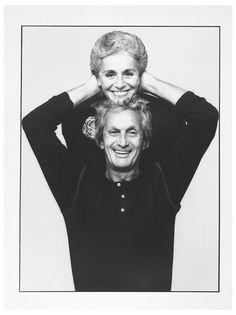 Ottavio e Rosita Missoni - photo Giuseppe Pino, 1984