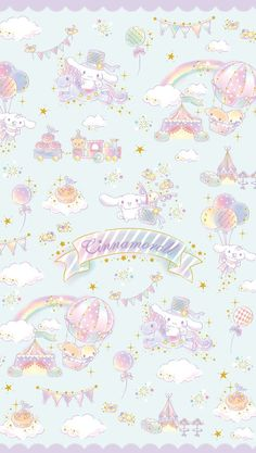 Image about text in 🐱 Wallpapers Sanrio 🐱 by Un Petit Dragon Rose (WHI) Sanrio Wallpaper, Hello Kitty Wallpaper, Kawaii Wallpaper, Wallpaper Iphone Cute, Disney Wallpaper, Cute Backgrounds, Wallpaper Backgrounds, Kawaii Drawings, Cute Drawings