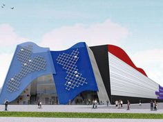 Futuro Laboratório de Inovação e Empreendedorismo da USP, projetado por Ruy Ohtake