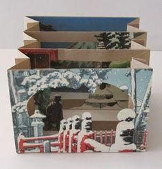 UnBound: A Paper Art Blog: How to Make a Tunnel Book