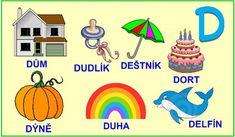 ABECEDA PÍSMENO D Alphabet, Education, Logos, Disney Characters, Google, Alpha Bet, Educational Illustrations, Learning, Logo