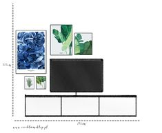 Living Room Tv, Home And Living, Tv Wall Decor, Room Decor, Home Ownership, Some Ideas, Botanical Art, Remodeling, Gallery Wall