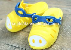 2014 Kids Summer Children super cute cartoon EVA garden clogs
