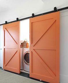 Love loft doors! My neighbors new business venture!