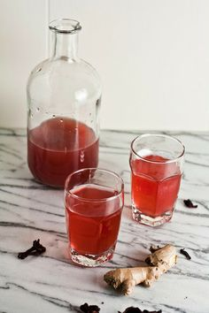 Hibiscus Ginger Ale recipe from @michelle22222