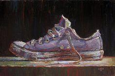 Raymond Logan - Low Chuck (a little larger) 8 x 12 oil