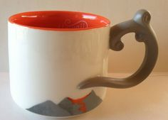 New Starbucks Hawaii 2014 Volcano Orange #Coffee Mug #Starbucks #Hawaii