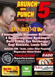 BRUNCH WITH PUNCH 5, Wien 27.01.2013