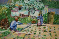 Franck POLISANO (@FranckPolisano) | Twitter For sale on #eBay ! Magnifique peinture Les premiers pas (d après Van Gogh) http://www.ebay.fr/itm/-/291857178620?roken=cUgayN
