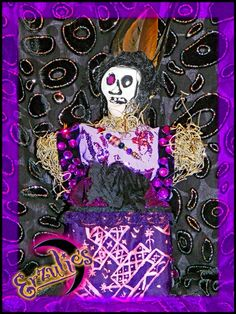 Voodoo Dolls and Voodoo Veve Dolls of the Lwa!  Voodoo Veve Dolls for Ghede: Baron Samedi & Manman Bridgette for Transitions and Justice!  Learn more about Erzulie's Voodoo Veve Dolls by visiting: http://erzulies.com/product-category/voodoo-dolls-collection/voodoo-veve-dolls/  #Voodoo, #NewOrleansVoodoo, #VoodooDolls, #VoodooVeveDolls, #VoodooAltarDolls, #VoodooVeves, #VeveVoodooDolls