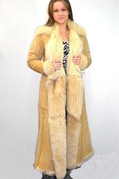 Long Sheepskin Coat - JacketIn