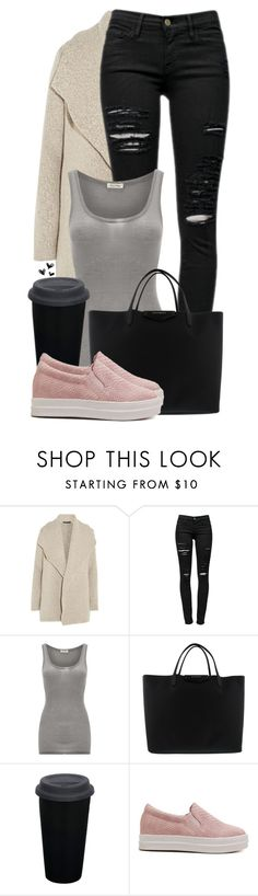 """""""#14"""" by oneandonlyfashion ❤ liked on Polyvore featuring James Perse, Frame Denim and American Vintage"""