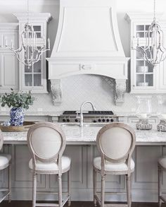 White kitchen, custom kitchen, image by @gather_in_grace