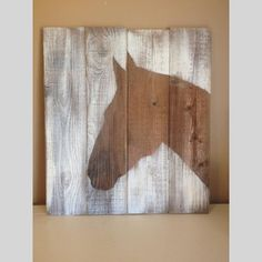 Rustic Horse Silhouette - Distressed Country Horse Picture | Scott's Marketplace