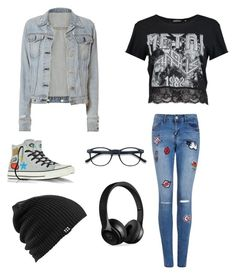 """""""□■□■"""" by song-v on Polyvore featuring Boohoo, rag & bone, Converse, Burton and Beats by Dr. Dre"""
