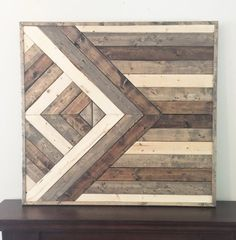 Items similar to Wooden wall art, Shabby chic wall decor, reclaimed wood wall decor, nursery decor, wood wall art on Etsy Reclaimed Wood Wall Art, Wooden Wall Decor, Wooden Art, Wooden Walls, Wall Wood, Unfinished Wood, Wood Projects, Woodworking Projects, Woodworking Workshop