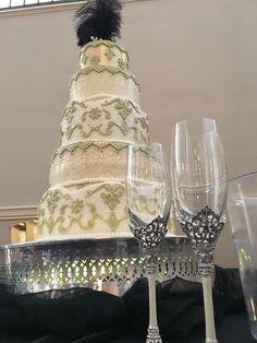 7.9.2016 | Erin & Logan Wuthrich Wedding | Wedding Cake by Allison Collins | Watson Building | Event Planning by Top Tier
