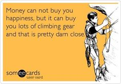 And to think when I started I thought I was getting into a cheap hobby... #climbing