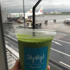 Raw Juice, Sky High, Instagram Accounts