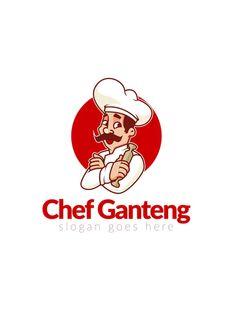 Chef Logo by Slidehack on Envato Elements Minimal Business Card, Business Flyer, Logo Templates, Flyer Template, Chef Images, Icon Design, Logo Design, Chef Logo, Restaurant Flyer