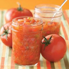 Garden Tomato Relish - this recipe makes a lot!!  It's a great way to share your Summer Garden Bounty with others - Pass on some homegrown goodness!!!