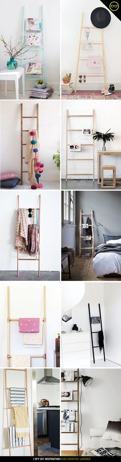 DIY INSPIRATION | Decorative Ladder | I Spy DIY | Bloglovin