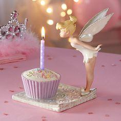 Disney's Tink's Birthday Wish Figurine by Lenox More