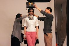 【バンタンデザイン研究所】雑誌『GINZA』の1ページをプロデュース!デビュープロジェクトの制作現場に密着!!
