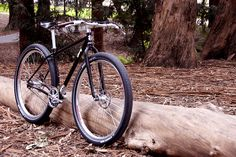 Surly Karate Monkey - front angle view