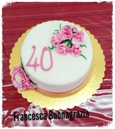 Torta 40anni donna