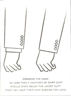 Tailoring the Jacket Sleeve Length