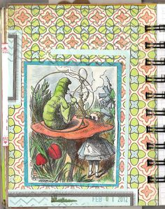 This year I'm creating 366 Art Journal pages. Visit my blog at: www.coreymarie.com