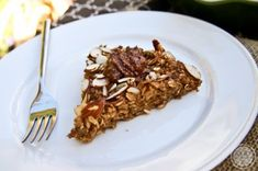 Coffee Almond Baked Oatmeal by Kath Younger