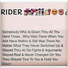 The REAL definition of a ride or die