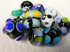 big ugly lampwork beads