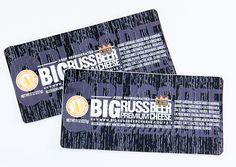 Blue Bee Printing - Custom Stickers - Big Russ Premium Beer Cheese