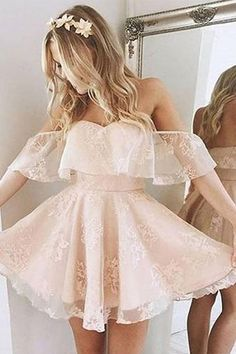 A-Line Homecoming Dress,Lace Prom Dress Short Prom Dresses,Short Pearl Pink Homecoming Dress,Lace Homecoming Dresses,short prom dress Short Graduation Dresses, Cute Homecoming Dresses, Prom Dresses 2017, A Line Prom Dresses, Dress Prom, Prom Dresses Long Open Back, Prom Dresses For Teens, Prom Dresses Long With Sleeves, Black Prom Dresses