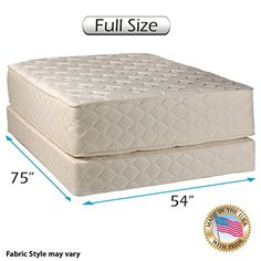 Are you ready for the most luxurious sleep of your life? The Highlight Luxury Firm mattress & Box Spring set by Dream Solutions USA, is uniquely designed to give you the perfect blend of unwavering comfort, orthopedic support, and enhanced beauty. It is scientifically proven to target the... more details available at https://furniture.bestselleroutlets.com/bedroom-furniture/mattresses-box-springs/mattresses-box-spring-sets/product-review-for-highlight-luxury-firm-full-siz