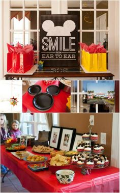 Personalizing a Disney party: It's all in the details! Adorable touches that are super easy to pull together.