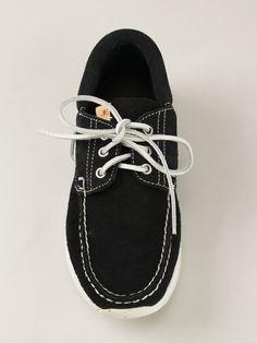Visvim 'Hockney Folk' deck shoes
