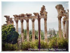 #baalbek #baalbektemple #ruins #colonnade #temple #lebanon #libanon #history #heritage #church #castle #museum #architecture #art #sculpture #statue #myphoto #photography #photos #photo #travel #2007