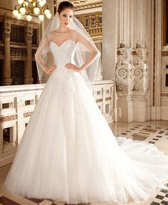 Demetrios 2015 collection -Style 570 Demetrios 2015 Collection  Bridal gowns in versatile silhouettes with elegant embroidery and details.