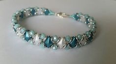 Linda's Crafty Inspirations: Playing with my beads...DiamonDuos, O-Beads & Rondelles